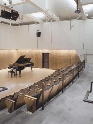 Grant Fulton Recital Hall, Brown University by Brian Healy Architects