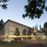 Bennington College Student Center, Bennington, VT / Taylor & Burns Architects, Boston, MA