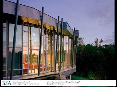Atwater Commons, Middlebury College, Vermont / designed by Kieran Timberlake