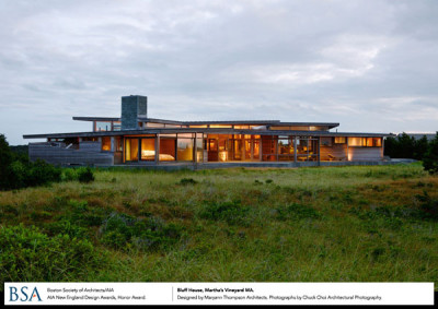 Bluff House, Martha's Vineyard, MA / designed by Maryann Thompson Architects