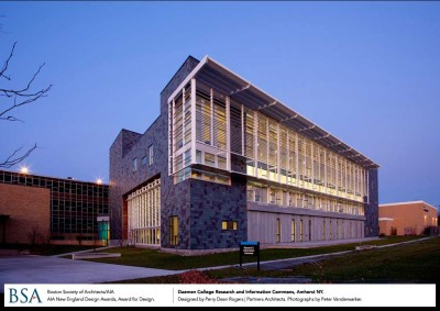 Daemen College Research and Information Commons, Amherst, NY / designed by Perry Dean Rogers