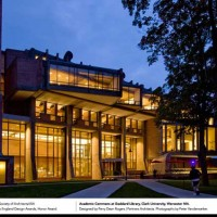 Commons at Goddard Library, Clark University, Worcester, MA