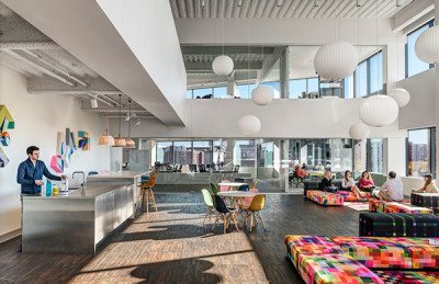 FAVORITE SPACE IN WHICH TO WORK: North American Headquarters Building , EF Education First | Wilson Architects / Wingårdh Arkitektkontor AB