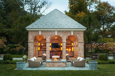 FAVORITE PLACE IN WHICH TO PLAY: Greenwich Pool House | Douglas VanderHorn Architects