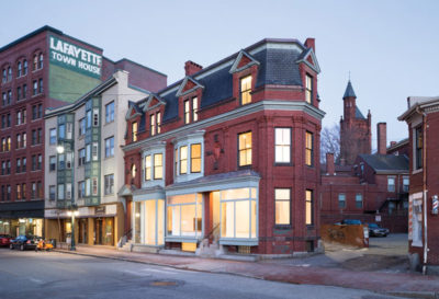 CITATION AWARD - HISTORIC PRESERVATION + ADAPTIVE RESUSE: 660 Congress St. | PRESENT Architecture