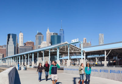 CITATION AWARD - HISTORIC PRESERVATION + ADAPTIVE RESUSE: Brooklyn Bridge Pier 2 | Maryan Thompson Architects and Easton Architects