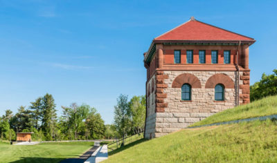 MERIT AWARD - HISTORIC PRESERVATION + ADAPTIVE REUSE: Fisher Hill Reservoir | Touloukian Touloukian Inc.