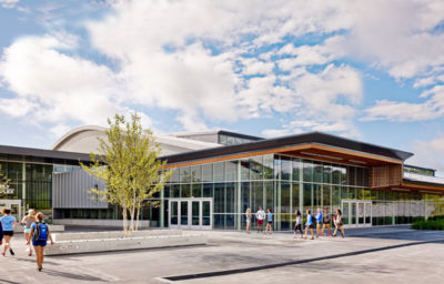 MERIT AWARD - INSTITUTIONAL: Middlebury College Virtue Field House | Sasaki Associates