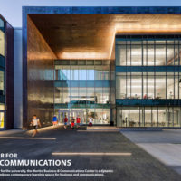 MERIT AWARD - INSTITUTIONAL: Sacred Heart University Martire Business & Communications Center | Sasaki Associates Inc.