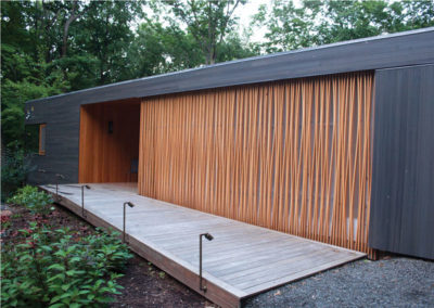 MERIT AWARD-SINGLED FAMILY RESIDENTIAL: Woodland House | Gray Organschi Architecture