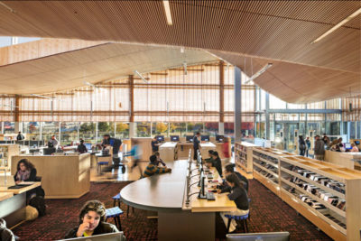 MERIT AWARD - COMMERCIAL/INSTITUTIONAL: Boston Public Library, East Boston Branch | William Rawn Associates, Architects, Inc.