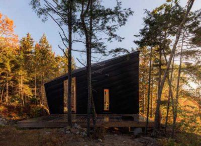 CITATION: Cabin on a Rock | I-Kanda Architects