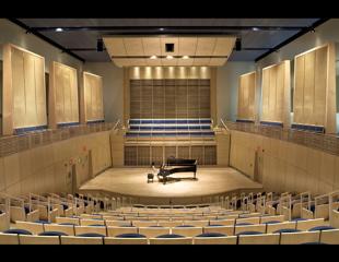 Studzinski Recital Hall at Bowdoin College, Brunswick, ME / William Rawn Associates