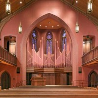 Memorial Chapel, Patricelli '92 Theater, and Zelnick Pavilion, Wesleyan University - Robert Olson + Associates