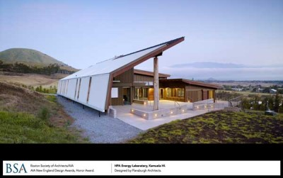 Hawaii Preparatory Academy, HPA Energy, Kamuela, HI / designed by Flansburgh Assoc