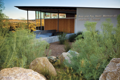 Fred and Fay Haas Memorial Interfaith Chapel. Embry-Riddle Aeronautical University, Prescott, AZ
