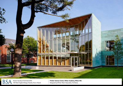 Pritzker Science Center, Milton Academy / William Rawn Associates