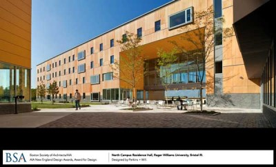 North Campus Residence Hall, Williams University, Bristol, RI / designed by Perkins + Will