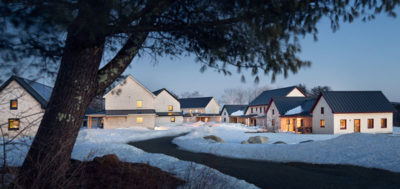 HONOR AWARD - MULTI FAMILY RESIDENTIAL: Belfast Cohousing and Ecovillage | GO Logic