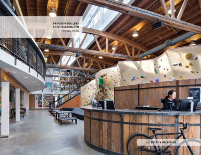 PEOPLE'S CHOICE AWARD - COMMERCIAL: Brooklyn Boulders Chicago | Arrowstreet Inc.