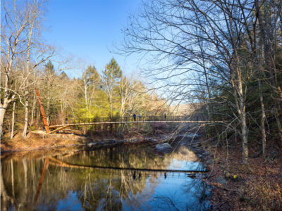 CITATION AWARD - SPECIAL PROJECTS: Henry David Thoreau Suspension Footbridge | Gray Organschi Architecture