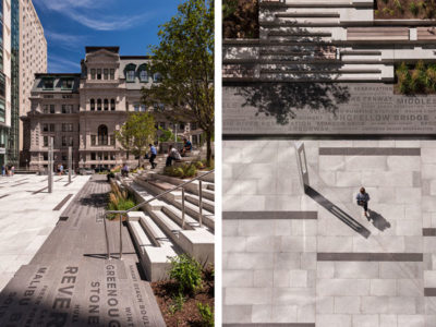 CITATION AWARD -INSTITUTIONAL: Roemer Plaza, Suffolk University | Klopfer Martin Design Group