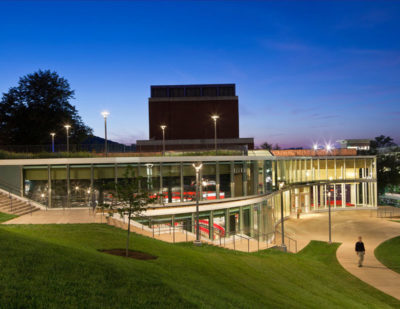CITATION AWARD - INSTITUTIONAL: Ruth Caplin Theater, University of Virginia | William Rawn Associates
