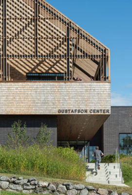 HONOR AWARD - COMMERCIAL/INSTITUTIONAL: Gustafson Center | Perry Dean Rogers Partners Architects