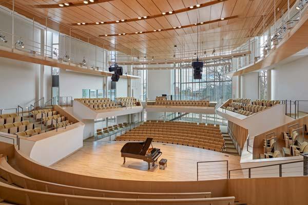 MERIT AWARD: Pennsylvania State University Recital Hall | William Rawn Associates, Architects, Inc.